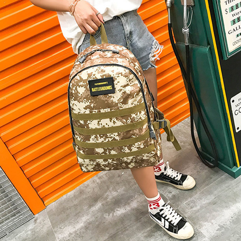 Men PUBG Backpack Multifunction Waterproof Teenage School USB Charging Backpacks Women Travel Level 3 Bag Boys Mochila BP0247 (14)