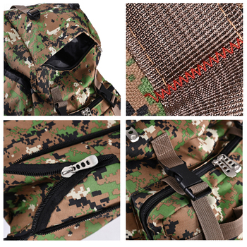 100L Large Capacity Outdoor Tactical Backpack Mountaineering  Camping Hiking Military Molle Water-repellent Tactical Bag 5