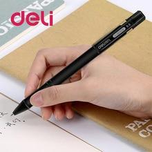 Deli gel pen 1pcs 0.5mm gel-ink soft rubber dull polish rod business signature pen gel pen S65 Children Stationery School Office