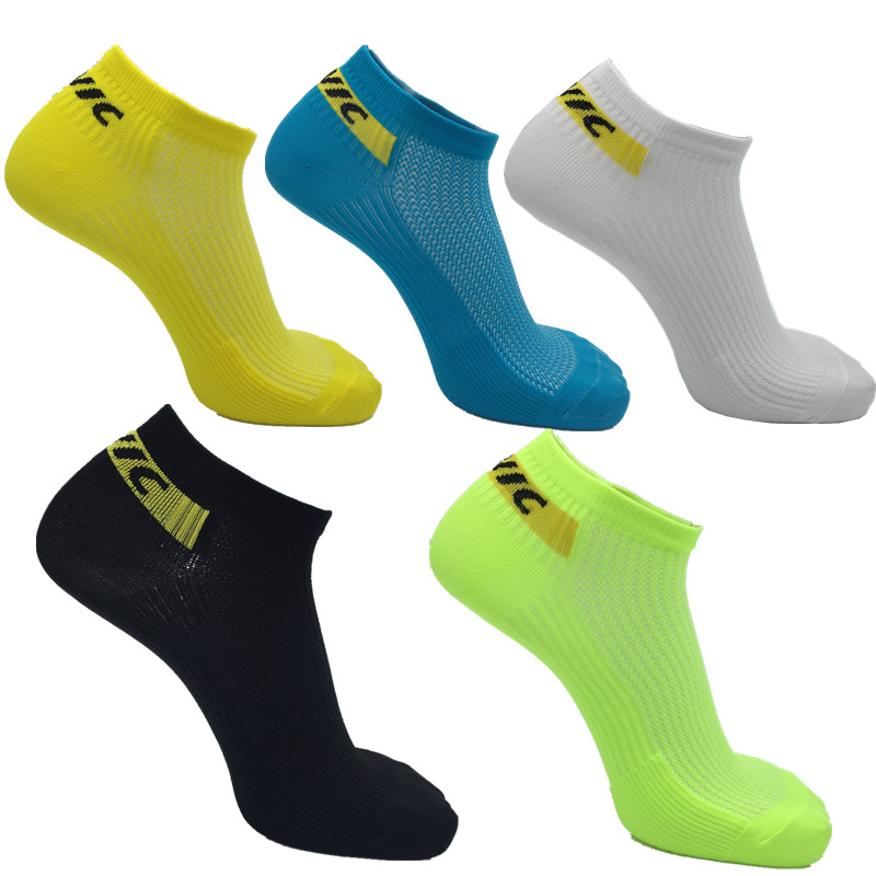 High quality Professional brand sport socks Protect feet breathable wicking socks style popular cycling socks 5 colour