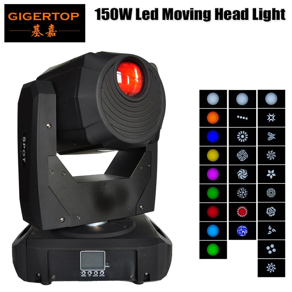 Gigertop 150 W LED lumière principale mobile lumière de scène colorée Mini faisceaux mobiles pour DJ Party Disco KTV discothèque vit TP-L658