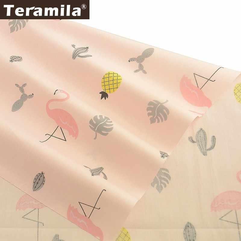 Teramila Tissu 100% coton Animal pour le bricolage   Tissu Animal, Tecido Tela, literie, Patchwork, oreiller, Quilting, Tissu pour bébé, couture, Textile artisanal pour la maison