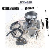 Motorcycle 36mm PD36J Carburetor for suzuki Kawasaki UTV ATV 350cc 500cc