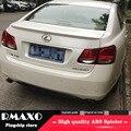 Voor LEXUS GS300 GS350 GS430 Spoiler 2008-2013 LEXUS GS Hoge Kwaliteit ABS Materiaal Auto Achtervleugel Primer Kleur achterspoiler
