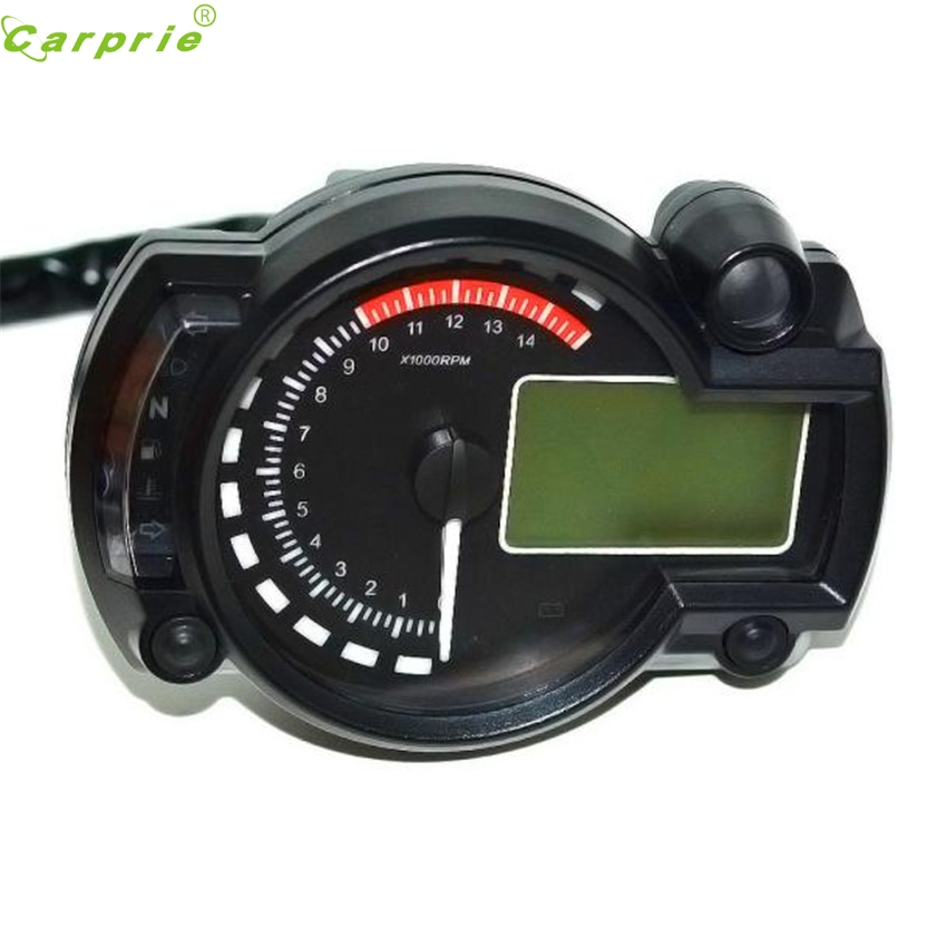 High Quality Backlight Lcd Digital Motorcycle Speedometer