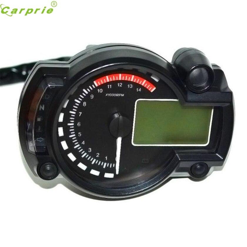 High Quality Backlight LCD Digital Motorcycle Speedometer Odometer Motor Bike Tachometer