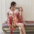 Размер 180*150 см, 2016 новый четыре сезона Мода Шифон шелковый шарф Шаль Пляжное полотенце платки и шарфы женщин skyour