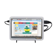 7 Inch Acrylic Protective Shell for Raspberry Pi 2 3 Capacitive Touch Screen HDMI USB 1024*600 LCD IPS Display