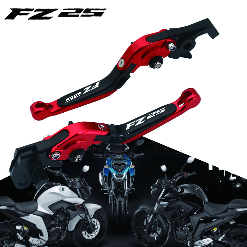OLOMM For YAMAHA FZ-25 FZ25 25 FZ 2017-2018 Motorycle Folding Extendable
