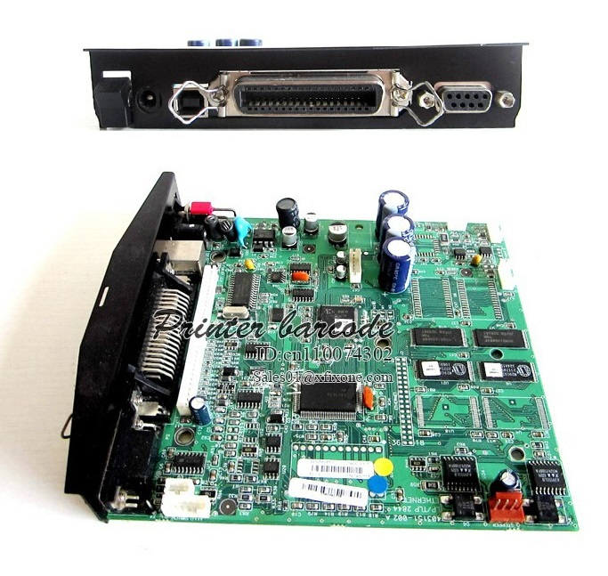 цена 90% New Formatter board mother board for zebra TLP2844 printer 403650K 203dpi Printer main board