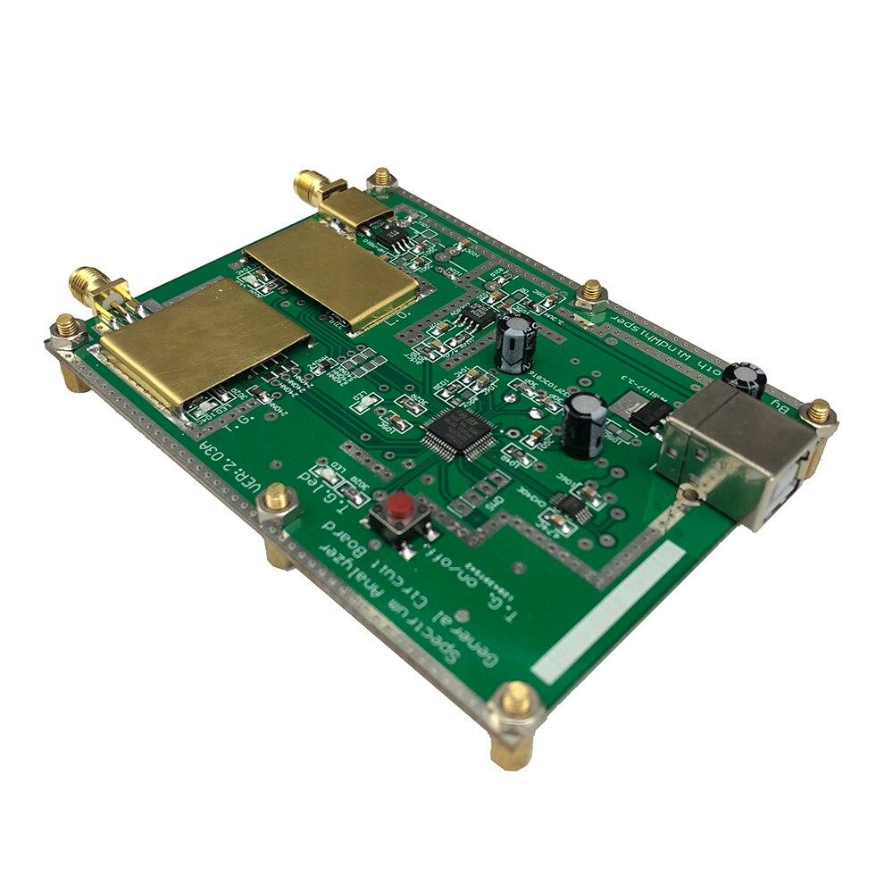 Image 3 - Простой анализатор спектра D6 с источник отслеживания T.G. V2.02 простой источник сигнала RF Частотный инструмент для анализа домена-in Усилитель from Бытовая электроника