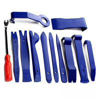 Hot 12 Pcs Car Disassembly Tool Interior Panel + Door Panel Release Lever Car Repair Tools