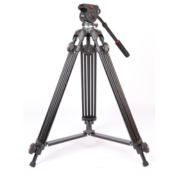 JIEYANG JY0508 JY-0508 JY0508B المهنية كاميرا ترايبود حامل فيديو ثلاثي القوائم/Dslr ترايبود السائل رئيس التخميد الفيديو مع حقيبة ترايبود