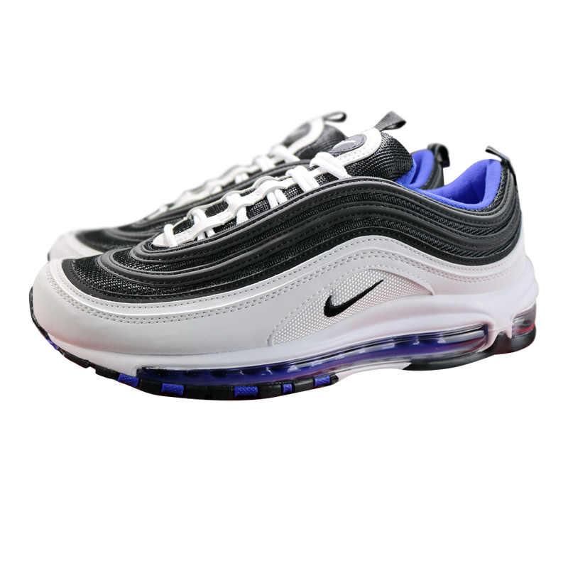 lowest price 0f89e 39383 ... Original Nike Air Max 97 OG Men's Running Shoes, Black & White / Green,  ...