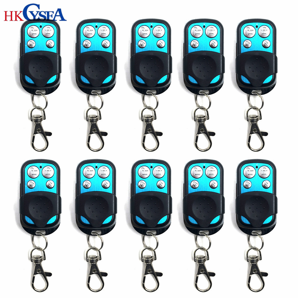 HKCYSEA 10pcs lot High Quality Adjusted Frequency 290 450MHZ Fixed Code Remote Key for H618 Remote