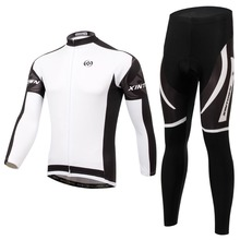 Long Sleeve Ride Clothing Men Cycling Jersey Breathable Tracksuits Sports Suit Men Bicycle Male Clothes Tights Biking L005