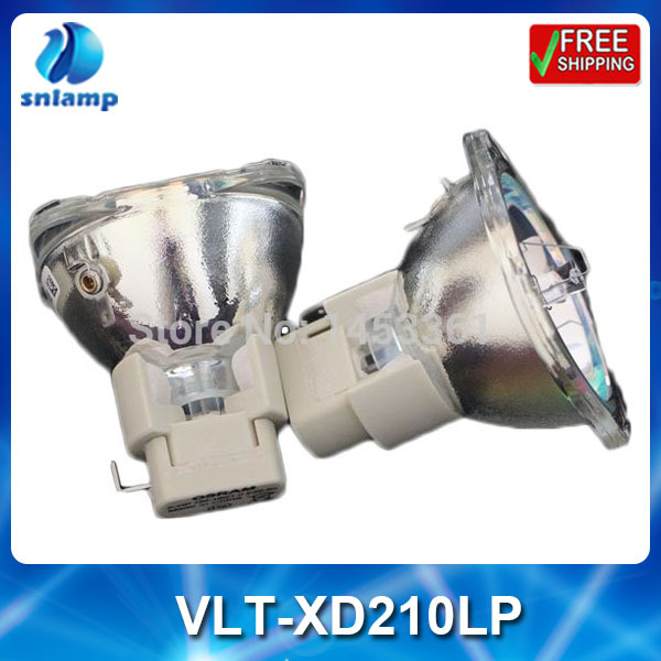 Osram original projector lamp bulb VLT-XD210LP for SD210U SD211U XD210U XD211U free shipping original projector lamp bulb vlt xd210lp for mit subishi sd210u xd210u xd211u