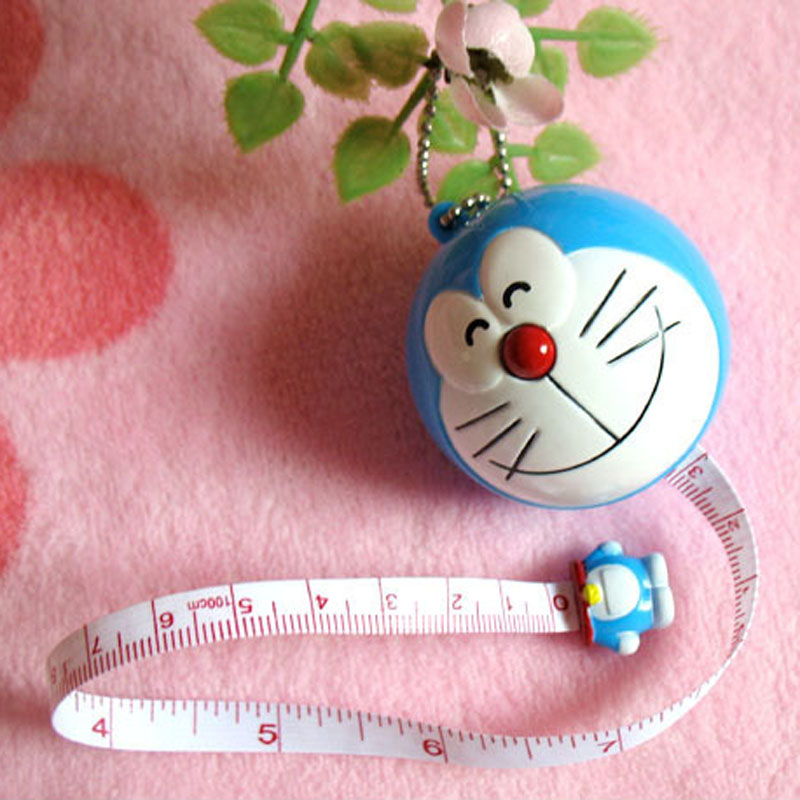 Tapeline Keychain Tape Ruler Drawing Toy Tape Ruler Kid's Drawing Play Toy Tape Measurement Ruler 1m Ruler I0055