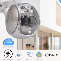 CTVMAN 1080P Cloud Storage HD Security Camera IP Camera Outdoor Wireless IP Camera WIFI 2MP Audio 64G SD Card Slot Bullet Camera