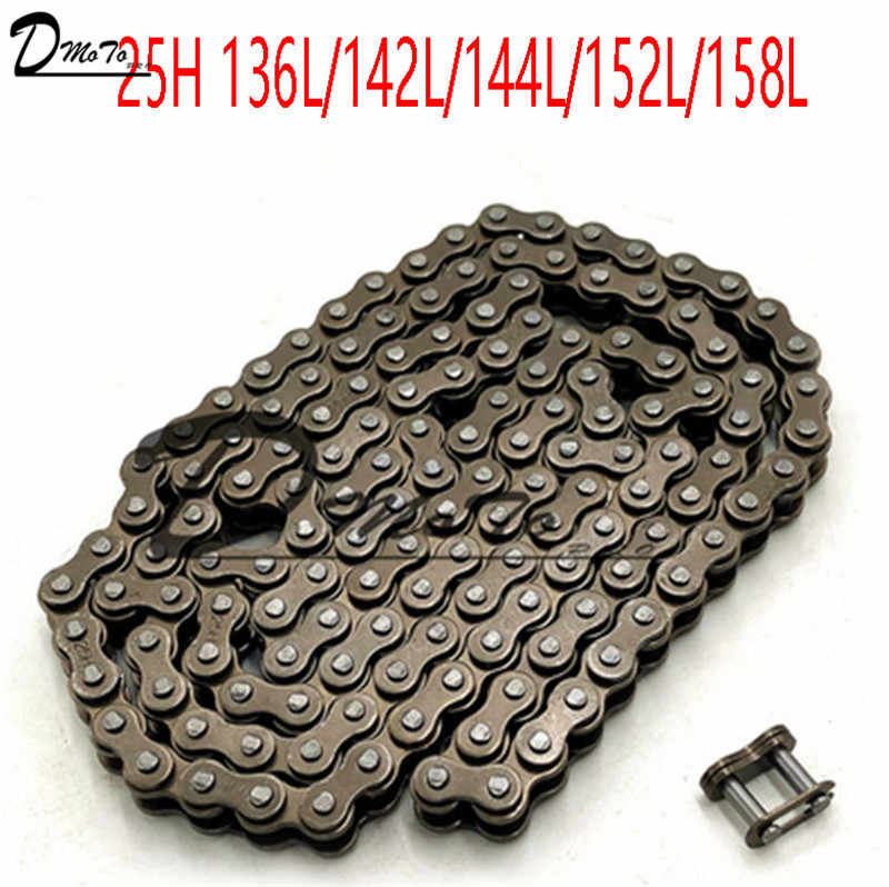 25H chain with Spare Master Link 47cc 49cc 2 Stroke Engine ATV Quad Go Kart Dirt Pocket Mini Motor Bike Motorcycle  section144
