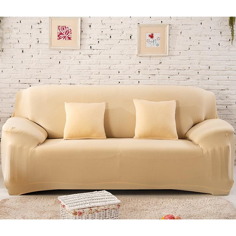 Housse de canapé coton extensible 8