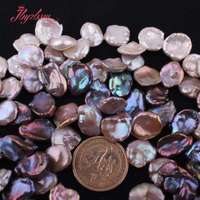 12 15mm Baroque Freshwater Pearl Beads Natural Stone Beads For DIY Necklace Bracelets Earring Jewelry Making 14.5 Free Shipping
