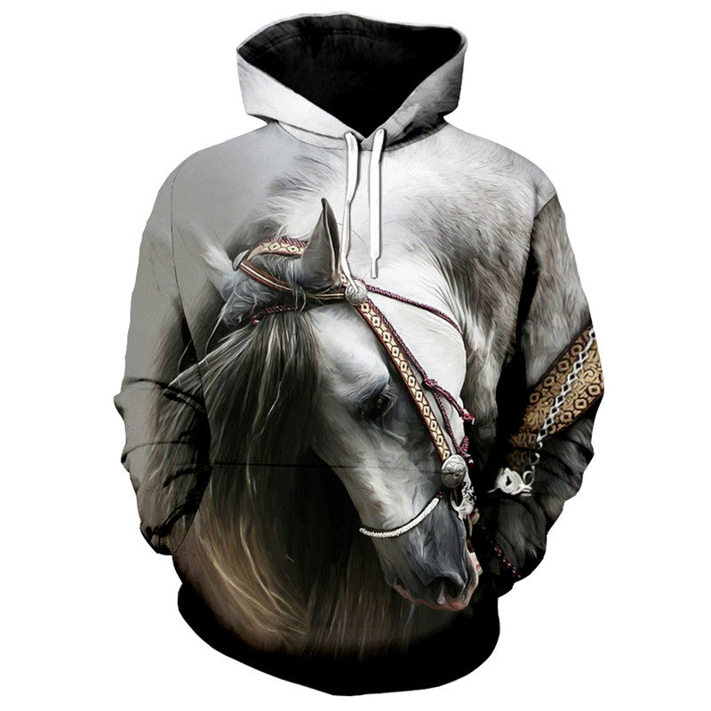 61b074e2d52c Buy 3d horse hoodie and get free shipping on AliExpress.com