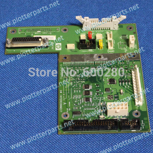 HP DesignJet 4000 4000ps 4020 4020ps Interconnect PC board Q1273-60267 Q1273-60075 Q1273-60203 used