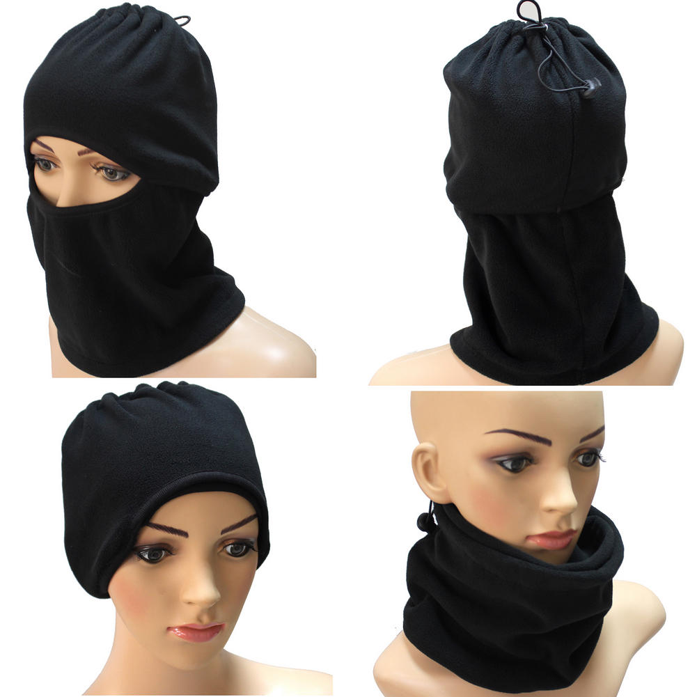 Unisex Winter Warm Fleece Full Face Mask Head Cover Neck Warmer Scarf Hat Ski Cycling Motorcycle Balaclava Caps Outdoor Sports unisex winter warm fleece full face mask head cover neck warmer scarf hat ski cycling motorcycle balaclava caps outdoor sports