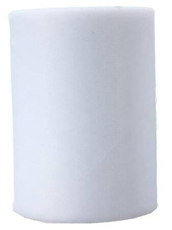 व्हाइट ट्यूल रोल स्पूल 12 - कला, शिल्प और सिलाई