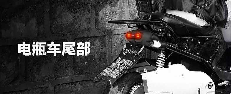 Universal Helmet Flashing Led Light Night Riding Adhesive Safety Blink rechageable  4