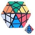 Diansheng Preto Forma de Diamante Magic Cube Enigma Velocidade Cubo Magico Especiais Kids Brinquedos Educativos