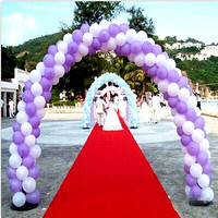 2 Size Balloon Arch Set With 8 Brackets Frame 2 Bases 50 Buckles and 2 Connectores Kits For Wedding Birthday Party Decorations