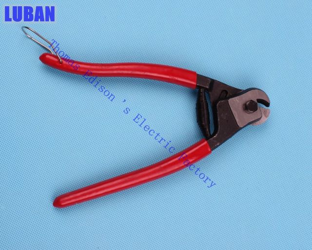 NK GS10 Mini Design Steel wire rope Cutters with Max 6mm2 for cables ...