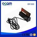 Máquina tragaperras swipe lector de tarjetas magnéticas msr portátil de mano magnética swipe card collector