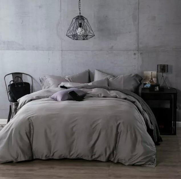 Luxury Dark Grey Egyptian Cotton Bedding Sets Sheets Bedspread King Queen Size Quilt Duvet Cover Bedsheet Bed Sheet Linen Bedset King Queen Size Cotton Bedding Setbedding Set Aliexpress