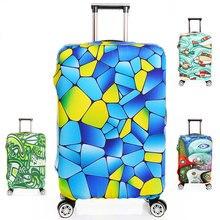 Dicke S/M/L/XL Elastische Koffer Abdeckung Mode Gepäck Schutzhülle Trolley Taschen Abdeckung für 18 «~ 32» Staub, Reise Zubehör