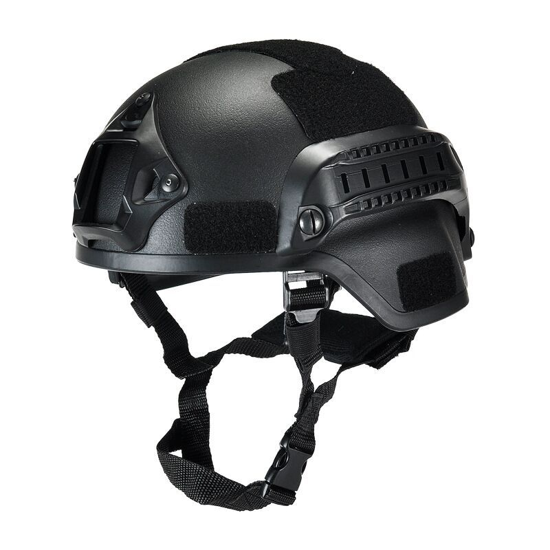 Outdoor Tactical Safety Helmet CS Combat Helmet Tactical Army Wargame Paintball Head Protector Helmet Hard Hat Cap ABS Material