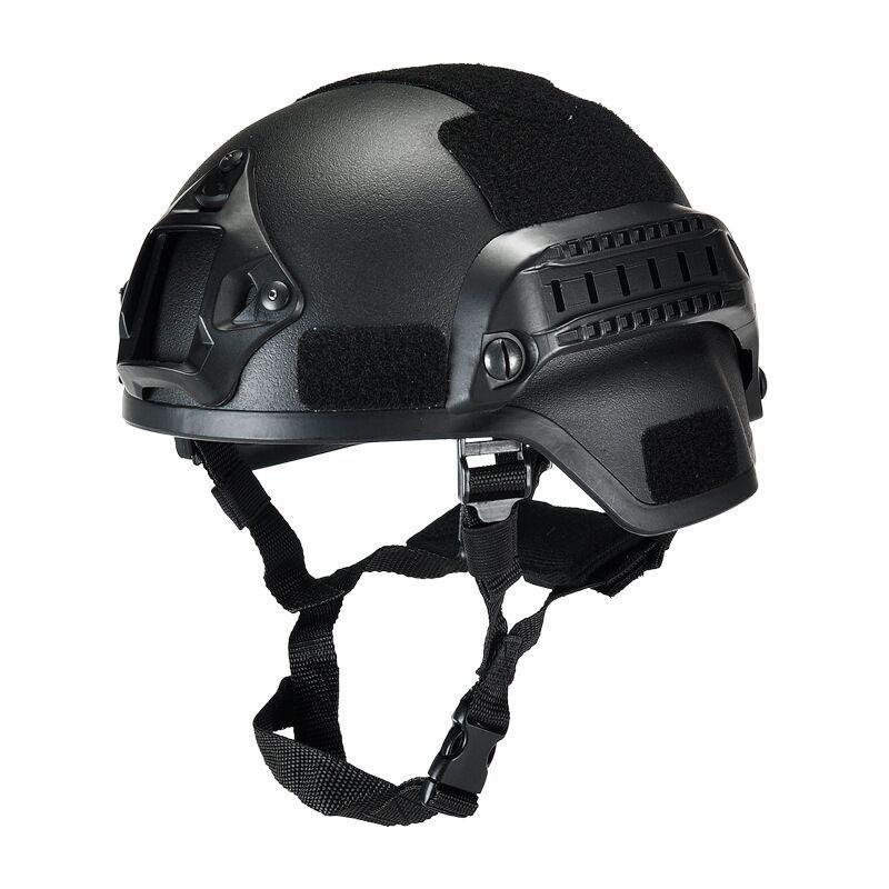 Outdoor Tactical Safety Helmet CS Combat Helmet Tactical Army Wargame Paintball Head Protector Helmet Hard Hat Cap ABS Material