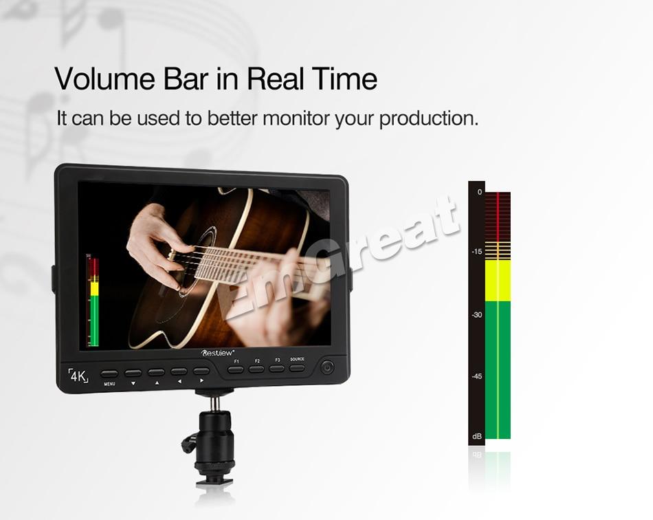 Bestview S7 4K 7 pulgadas HD Pantalla LCD de campo HDMI 1920 * 1200 + - Cámara y foto - foto 4