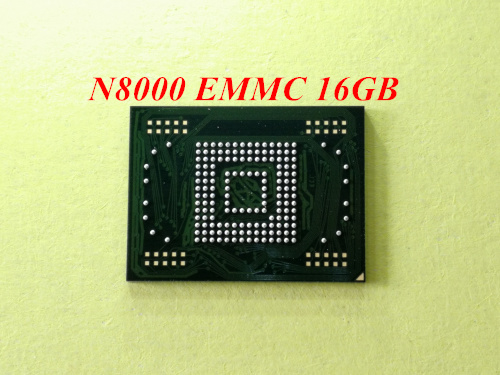1pcs-20pcs 16GB eMMC memory flash NAND with firmware used for Samsung Galaxy Note 10.1 N80001pcs-20pcs 16GB eMMC memory flash NAND with firmware used for Samsung Galaxy Note 10.1 N8000