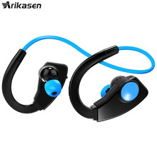 Bluetooth headphone IPX4 waterproof earphone MP3 player stereo headsets wireless for Sport Built in 8GB Memory for phone xiaomi(China)