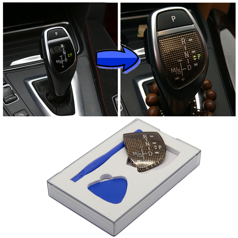 Decorative Brand New Gear Sticker Shift Knob Panel For BMW