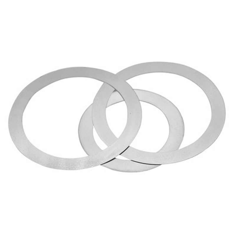 8pcs M22 Ultra-thin stainless steel washers flats washer gasket flat pad thickness 0.1mm-1mm 30mm-32mm Outer diameter