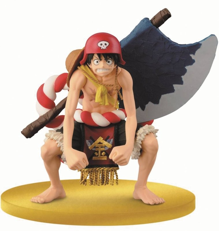 One Piece Film Gold Monkey D Luffy DXF Branpresto SC SCultures BIG 5 12CM PVC Action Figure Anime Toy Collection Model Gift 25cm anime one piece edition film z monkey d luffy pop pvc action figure collection toy op068
