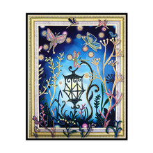 5D Special Halloween Lantern Pattern Diamond Painting Image DIY Embroidery Plant Home Decoration 40x50cm