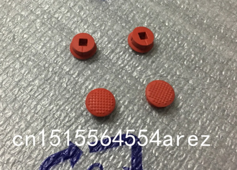 10 X Rubber Mouse Pointer TrackPoint Red Cap for IBM Thinkpad Laptop Nipple RS