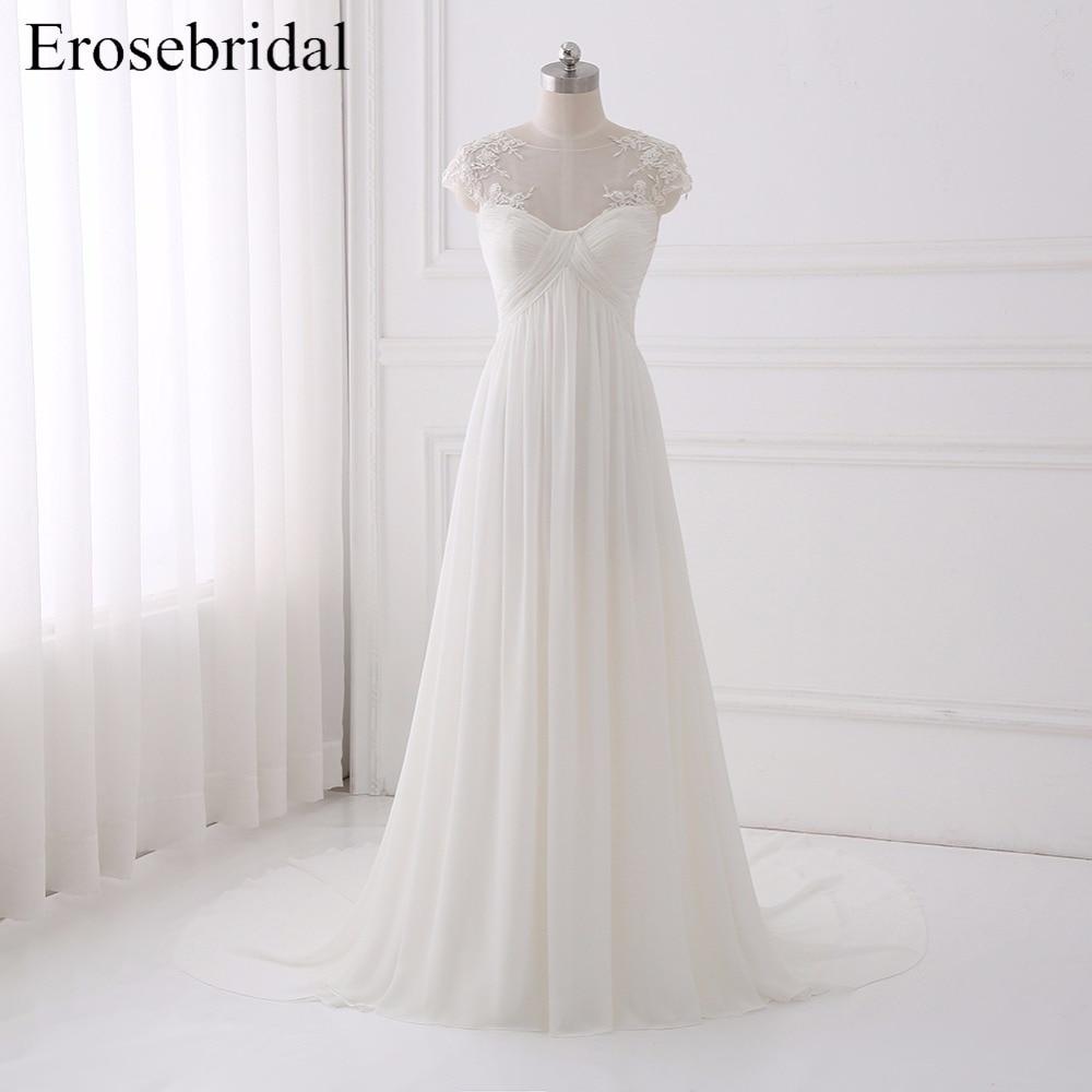 Simple Bohemian Wedding Dresses Erosebridal 2019 Wedding