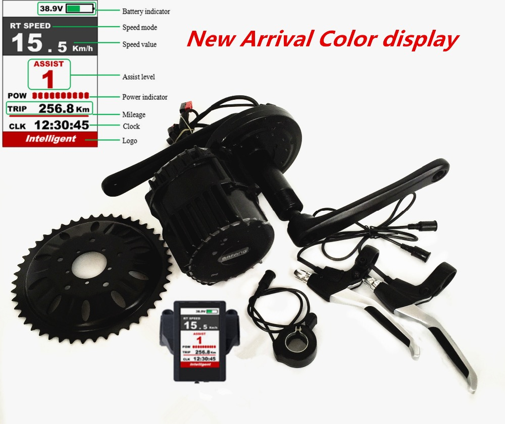 Free shipping BBSHD 48v 1000w electric bike kit mid drive system 1000w bafang mid motor kit bafang 8fun bbshd 1000w bbs hd 1000w bbs03 mid crank drive motor for diy electric bike conversion kit electric bicycle kit