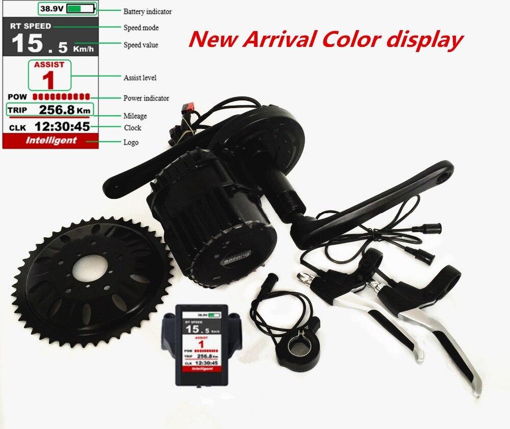 Livraison gratuite BBSHD 48 v 1000 w kit de vélo électrique mi système d'entraînement 1000 w bafang kit de moteur moyen